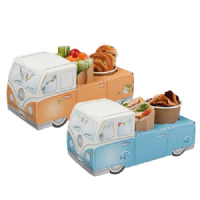 Camper Van Combi Meal Party Box Tray
